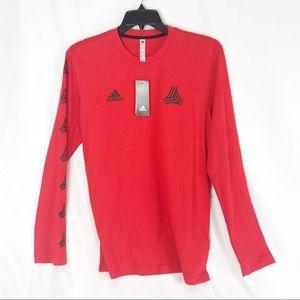NWT adidas long sleeve soccer tee Mediun